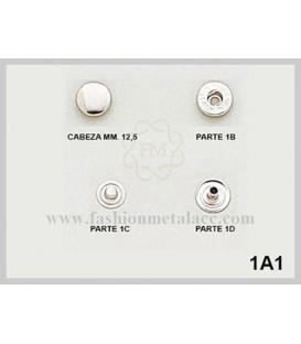 Broche presión 1-A-1 (Paquetes de 500 Uds.)