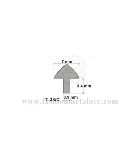 Remache hembra cónico T-33/C (Paquetes 100 uds.)