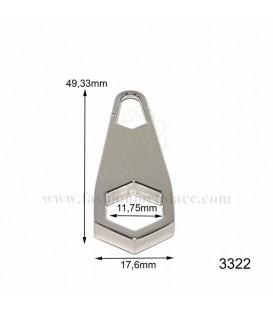 3322 Tirador cremallera