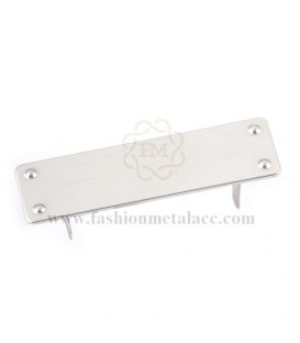 Rectangular wall light with claws 3186