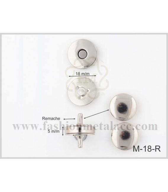 Broche imán M-18/R